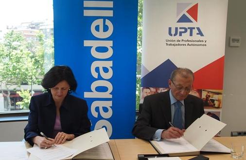 Acuerdo de colaboración financiera con UPTA