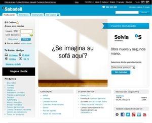 Web de Banco Sabadell