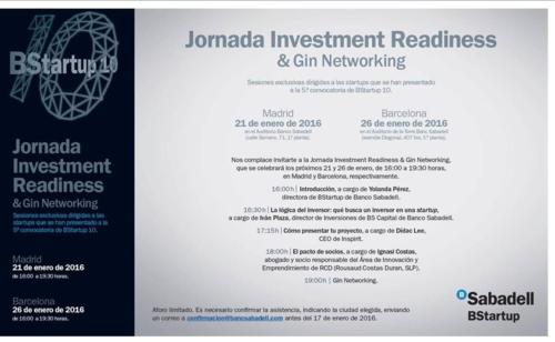 BStartup10 Jornada Investment Readiness