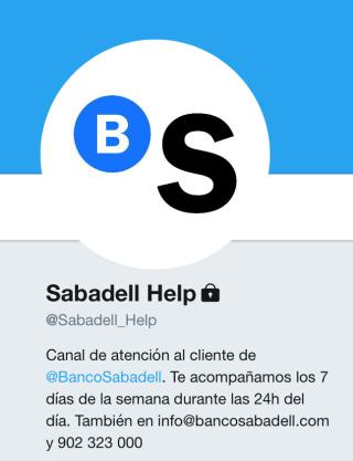 @Sabadell_Help: nuevo canal de atención al cliente en Twitter de Banco Sabadell