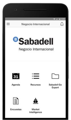 App Sabadell Negocio Internacional