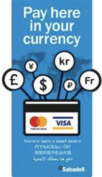 Benefíciate de las compras de tus clientes extranjeros con los TPVs de Banco Sabadell