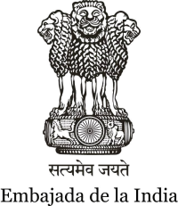 Logo Embajada India
