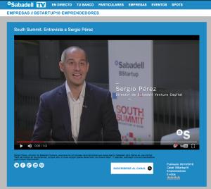 Sergio Pérez, Sabadell Venture Capital