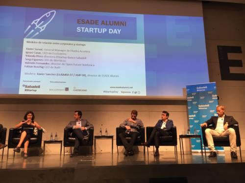 ESADE Alummni Startup Day BStartup
