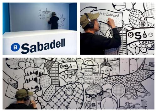 stand Banco Sabadell Yoshi Open Arty Sabadell