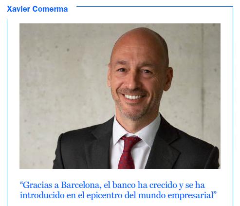 Xavier Comerma, dir Territorial Cataluña de Banco Sabadell