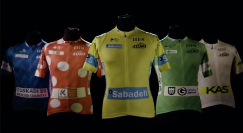maillots de la Itzulia 2021 GP Banco Sabadell