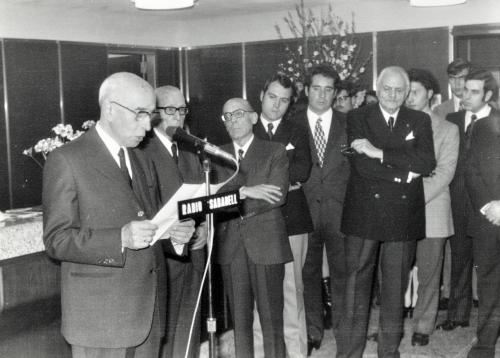 Inauguración oficina de Banco Sabadell en  BCN