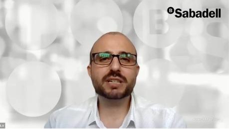 Raúl Vázquez Pastor de la Dirección de Control de Riesgo Tecnológico y del Dato de Banco Sabadell
